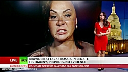 'Russians are liars': Tax cheat spews hatred before Senate