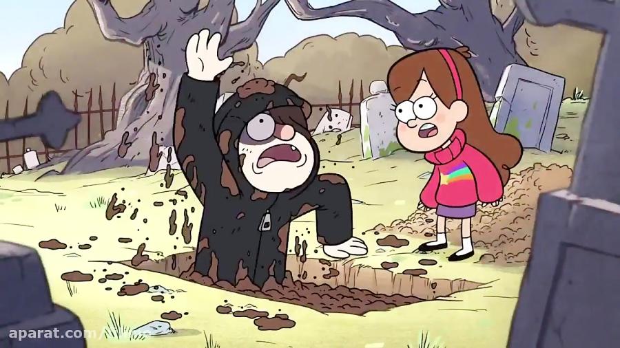 آنونس انیمیشن آبشار جاذبه
