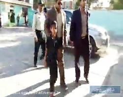 کودک ربوده شده سیرجانی به آغوش خانواده برگشت.