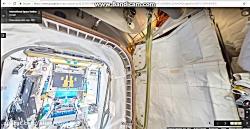 گردش در ایستگاه فضایی بین المللی با کمک گوگل 1