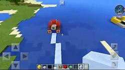 بازی Minecraft / ساخت جت اسک...