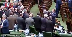 فیلم سلفی گرفتن نماینده های مجلس با موگرینی هم اومد بیرون
