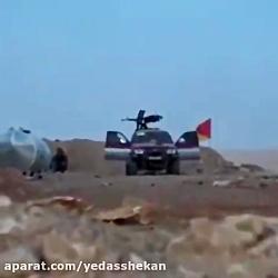 وقتی دست #داعشی_ها به پرچم یامهدی میرسه...