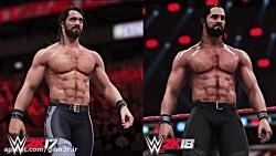 بهبودهای گرافیکی بازی WWE 2K18 - گیمر