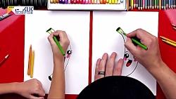 آموزش نقاشی به کودک - موز