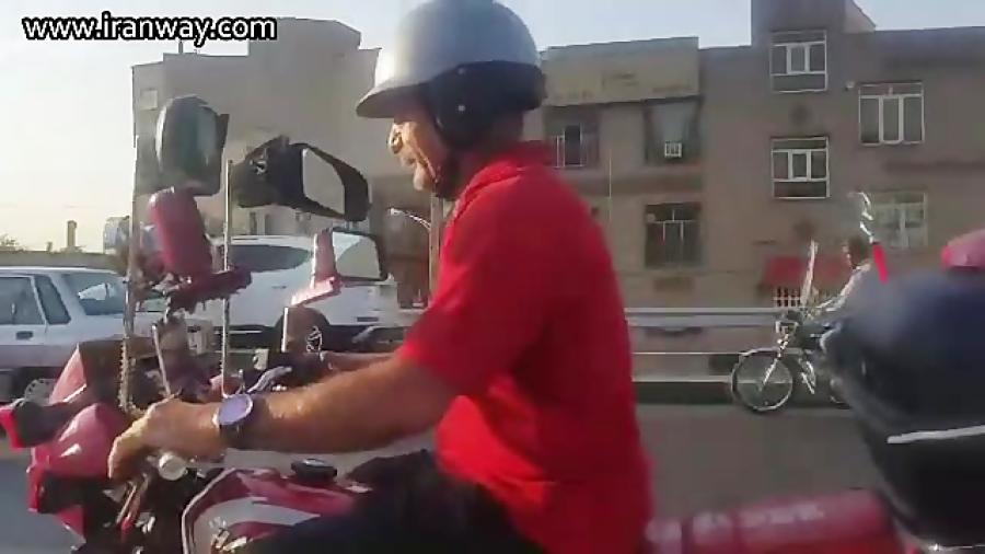 شادترین موتور سوار دنیا