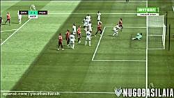 Manchester united vs Swansea 4-0 - All Goa...