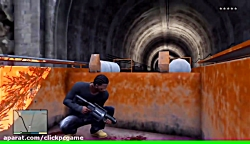 GTA V - 5 STAR TRAIN RAMPAGE - Loosing a 5 star wanted level -Grand Theft Auto 5