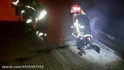 صبح امروز: رخداد دو آتش سوزی هم زمان در رشت