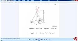 تحلیل خرپای سه بعدی در Abaqus