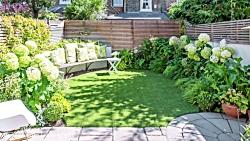 ایده های طراحی باغ، باغ های شهر