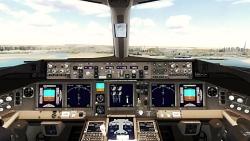 لندینگ بوئینگ 777 در فرودگاه دبی