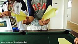مسابقه موشک های کاغذی