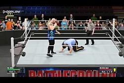 فینیشر کشتیگیران در WWE2K17(نبینی خدایی از دست رفته)