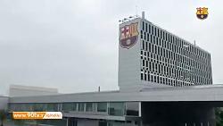 آخرین تمرین بارسلونا پیش از بازی با ختافه