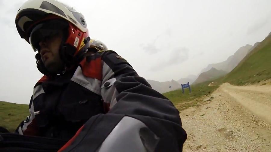 سفر به دشت لار با موتور
