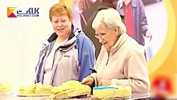 دوربین مخفی خنده دار؛ خانم ها می خواهند کیک بخورند...