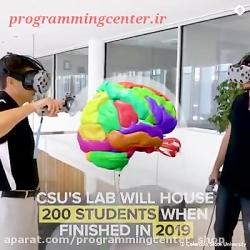 دیدن آناتومی بدن در واقعیت مجازی!!!! خیلی هیجان انگیزه