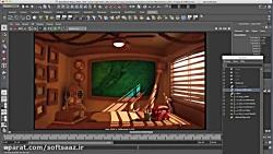 آموزش نورپردازی سینمایی در Maya و Vray بخش اول