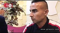 اردوی آرام سپیدرود و پیش بینی اش از مسابقه با استقلال