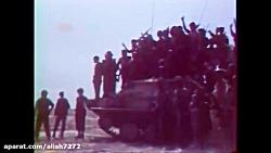 فیلم دیده نشده از لشکرکشی عراق در جنگ تحمیلی