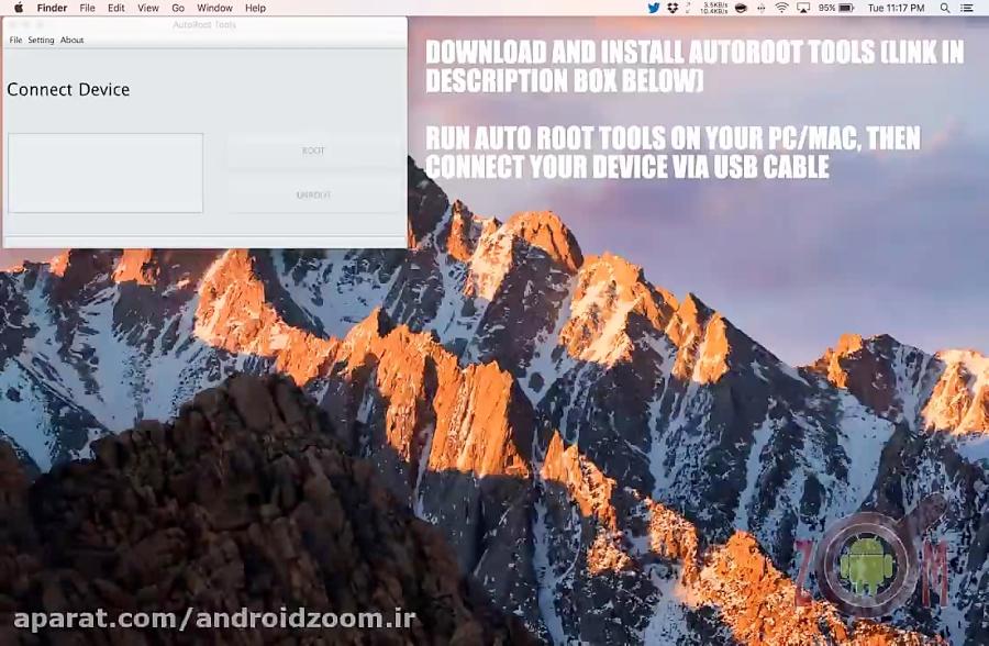 آموزش روت با برنامه AutoRoot Tools