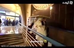 عروسى جالب دو جوان با معرفت ایرانى در یك جاى جالب