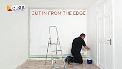 چطور یک دیوار را رنگ کنیم؟