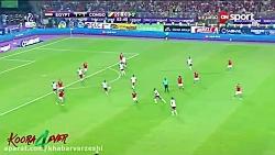 لحظه صعود مصر به جام جه...