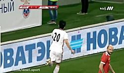 گل های دیدار دوستانه روسیه 1-1 ایران