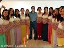 مردی با 13 زن حامله