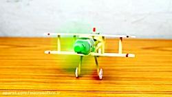 آموزش ساخت هواپیما با چوب