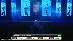 Amir Aliakbari **Iran** vs Brazil Giant Geronimo Dos Santos Full Fight Rizin 2017 MMA