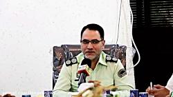 """نشست سرهنگ """" محمد شریفی"""" با مدیران کانال های تلگرامی"""