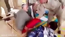 سردار حاج قاسم سلیمانی در اتاق عملیات در عراق