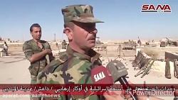 انبوهی از سلاح که از داعش برجای مانده است