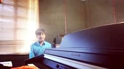 تمرین علی زند وکیلی با شاگردش