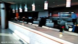 لانچ فرودگاه دبی هواپیمایی امارات