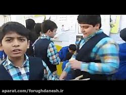 مصاحبه دانش آموزان  با موضوع انتخابات شورای دانش آموزی