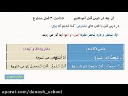 فیلم آموزش درس سوم عربی هشتم