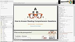 کارگاه آنلاین زبان عمومی - تکنیک های درک مطلب