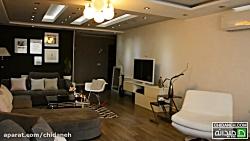 خانه مدرن، دکوراسیون سفید و طوسی این بار به انتخاب هدی!