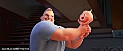 اولین تیزر تریلر انیمیشن شگفت انگیزان ۲ منتشر شد