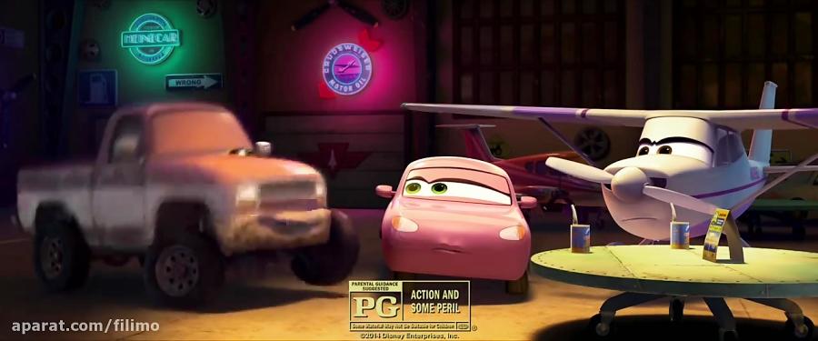 آنونس انیمیشن هواپیماها: آتش و نجات
