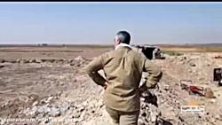 تصاویر دیده نشده از سردار قاسم سلیمانی در جنگ با داعش