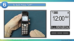 تلفن بی سیم پاناسونیک --فعال کردن کالر آی دی CallerID