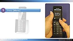تلفن های بی سیم پاناسونیک 2014 -بازیابی پیام ضبط شده