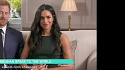 Meghan Markle In Tight Dress During Interv...