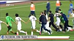 جشن صعود تیم ملی ایران ...