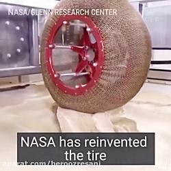 لاستیک جدید ناسا برای مریخ نوردی